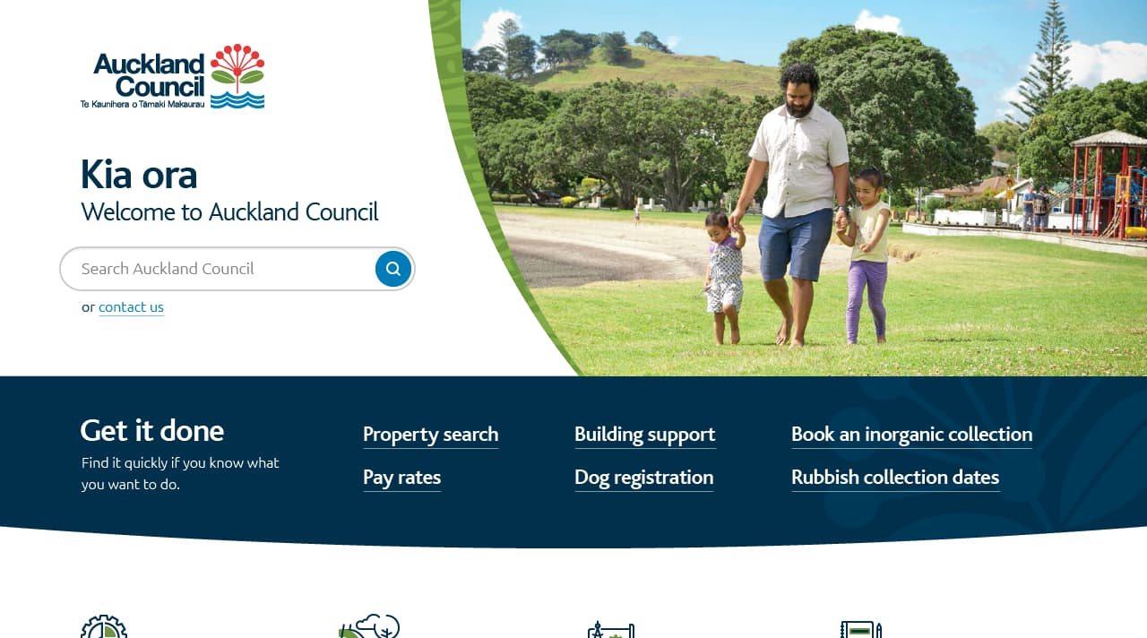 Project showcase image for Auckland Council.
